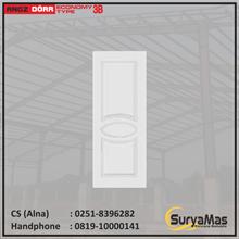 Pintu Angzdoor Molded Panel Series Ekonomi tipe 3B