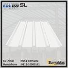 Atap UPVC Ecoroof SL Eff 760 mm Trimdeck Putih 1