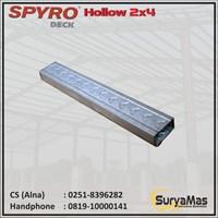 Baja Ringan Spyro Hollow 2 x 4 tebal 0.25