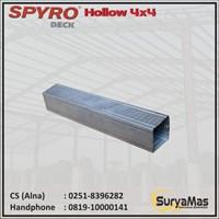 Spyro Baja Ringan Hollow 4 x 4 tebal 0.25