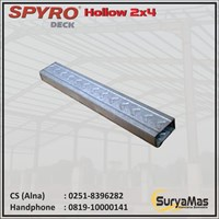 Spyro Baja Ringan Hollow 2 x 4 tebal 0.30