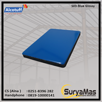 Aluminium Composite Panel S 03 Blue Glossy