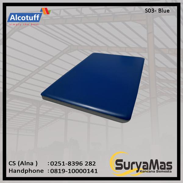 Aluminium Composite Panel S 03 Blue