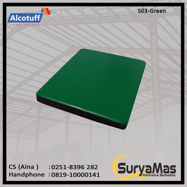 Aluminium Composite Panel S 03 Green