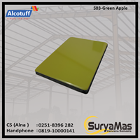 Aluminium Composite Panel S 03 Green Apple