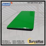 Aluminium Composite Panel S 03 Light Green Glossy