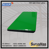 Aluminium Composite Panel S 03 Light Green Glossy