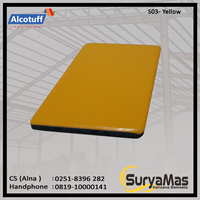 Aluminium Composite Panel S 03 Yellow