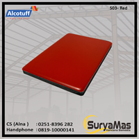 Aluminium Composite Panel S 03 Red