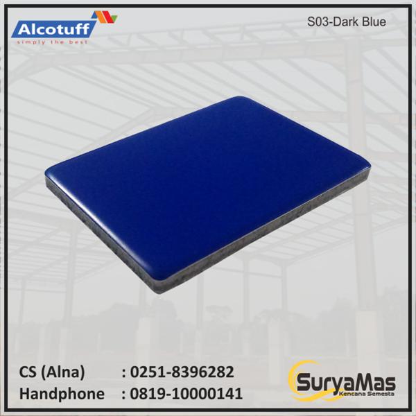 Aluminium Composite Panel  S 03 Dark Blue