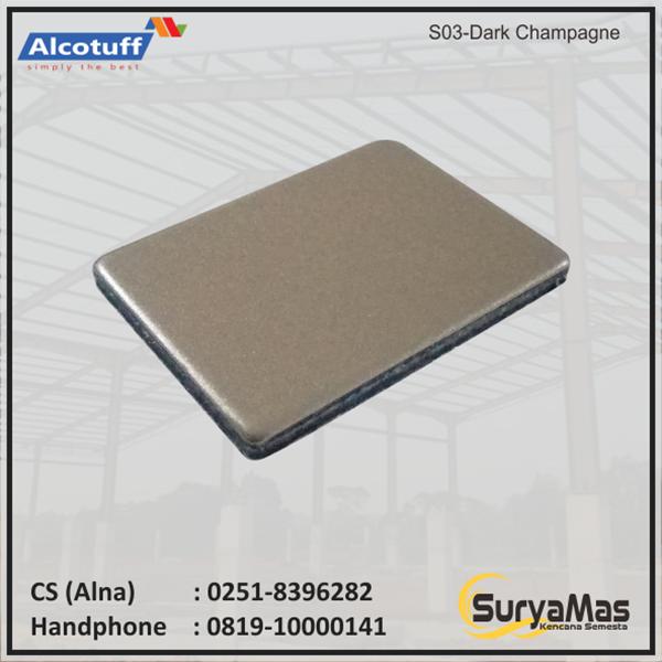 Aluminium Composite Panel S 03 Dark Champagne