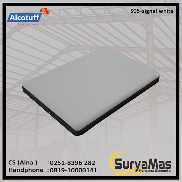 Aluminium Composite Panel S 05 Signal White