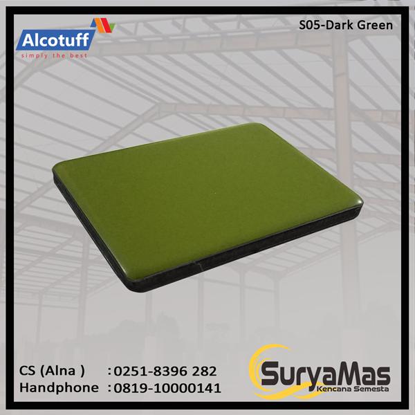 Aluminium Composite Panel S 05 Dark Green