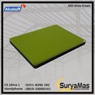 Aluminium Composite Panel S 05 Olive Green 1