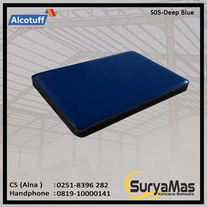 From Aluminium Composite Panel S 05 Deep Blue 0