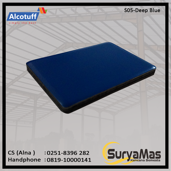 Aluminium Composite Panel S 05 Deep Blue