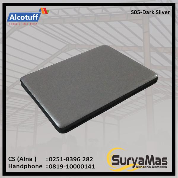 Aluminium Composite Panel S 05 Dark Silver