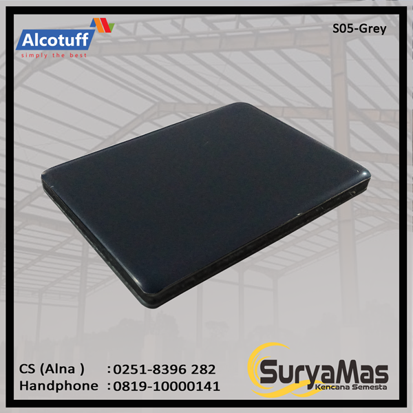 Aluminium Composite Panel S 05 Grey