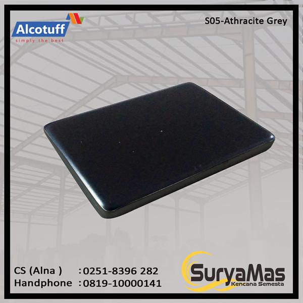 Aluminium Composite Panel S 05 Athracite Grey