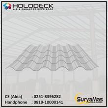 Atap UPVC Holodeck Eff 780 mm Putih