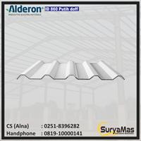 Atap UPVC Alderon ID Eff 86 cm Warna Putih Doff
