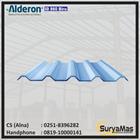 Atap UPVC Alderon ID Eff 86 cm warna Biru Doff 1