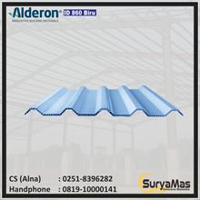Atap UPVC Alderon ID Eff 86 cm warna Biru Doff