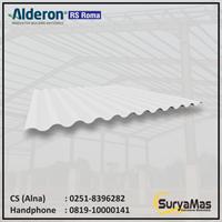 Atap UPVC Alderon RS Roma Eff 76 cm Opaque White