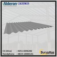 Atap UPVC Alderon RS Roma Eff 76 cm Lite Grey
