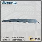 Atap UPVC Alderon RS Trimdeck Eff 76 cm Lite Grey 1