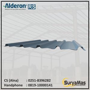 Dari Atap UPVC Alderon RS Trimdeck Eff 76 cm Lite Grey 0