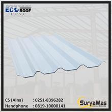 UPVC Roof Ecoroof DL Eff 86 cm Blue Doff