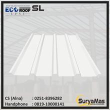 UPVC Roof Ecoroof SL Trimdeck Eff 76 cm Grey