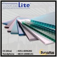 Atap Polycarbonate Twinlite 6 milimeter