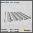 Atap UPVC Amanroof Tebal 12 milimeter Warna Putih 1