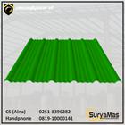 Atap UPVC Avantguard Eff 1050 mm Tebal 2 milimeter Warna Hijau 1