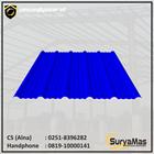 Atap UPVC Avantguard Eff 1050 mm Tebal 2 milimeter Warna Biru 1