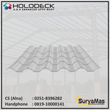 Holodeck UPVC Roof Eff 780 mm Thick 12 millimeter