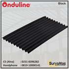Atap Bitumen Onduline Classic Tebal 3 milimeter Warna Hitam 1