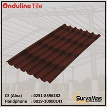 Atap Bitumen Onduline Tile Tebal 3 milimeter