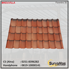 Atap Bitumen Onduvilla Tebal 3 milimeter Warna Florentino 3D 1