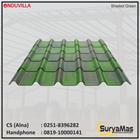 Atap Bitumen Onduvilla Tebal 3 milimeter Warna Shaded Green 1