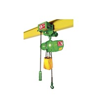 ELECTRIC CHAIN HOISTS FUTABA C/W TROLLEYS