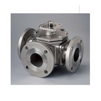 Ball Valve 3 Way Forged Steel