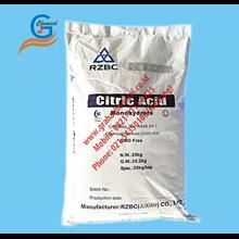 Citric Acid Monohydrate RZBC