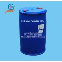 Hydrogen Peroxide 50% (Packing Drum Plastik) 1