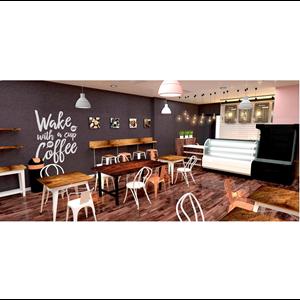 Jasa Desain Interior Cafe By Eka Widjaya Amanah