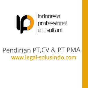 PAKET PENDIRIAN PT CV  PT PMA YAYASAN  By PT  Indonesia Professinal Consultant