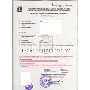 JASA PENGURUSAN PERIZINAN PT  CV  PMA  SIUP TDP & Perizinan Lainnya By PT  Indonesia Professinal Consultant