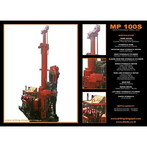 Mesin Bor Jacro 175 - Mp100s
